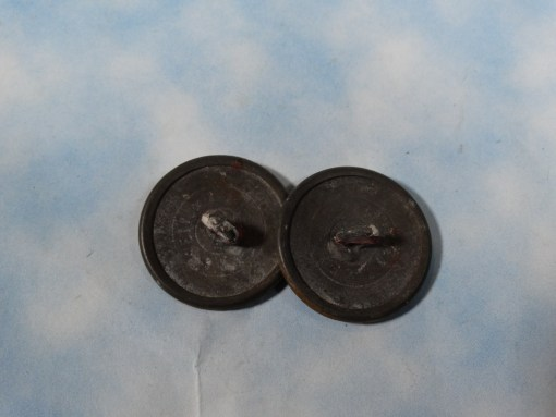 WÜRTTEMBERG - COLLAR BUTTONS - NCO - WARTIME - Imperial German Military Antiques Sale