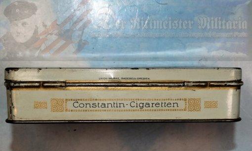 CIGARETTE TIN - CONSTANTIN BRAND - KONSTANTIN KAISERPREIS - FIFTY CIGARETTES - Imperial German Military Antiques Sale