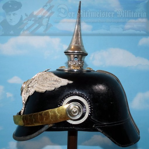 PRUSSIA - PICKELHAUBE - OFFICER - GARDE PIONIER-BATAILLON - Imperial German Military Antiques Sale