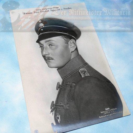 SANKE CARD NR 569 - PRUSSIAN PRINZ SIGISMUND