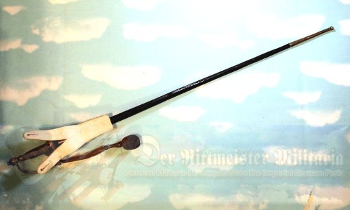 COLONIAL - SWORD - OFFICER - WITH SWORD HANGER AND PORTÉPÉE - FIRST PATTERN WITH CROWN