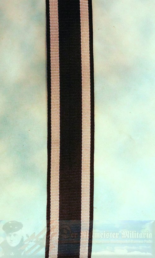 """IRON CROSS - 1914 - 2ND CLASS - RIBBON - NEW/OLD STOCK 6"""" SECTION."""