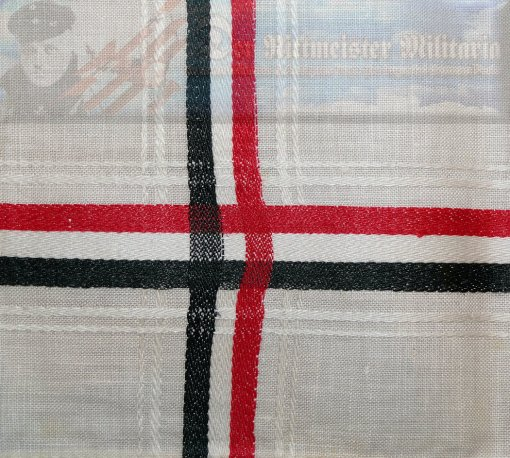 GERMANY - PATRIOTIC LINEN HANDKERCHIEF/NAPKIN - Imperial German Military Antiques Sale
