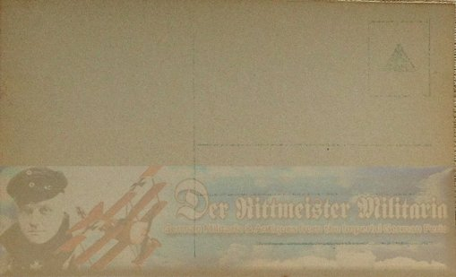 PRUSSIA - SANKE CARD - MANFRED AND LOTHAR VON RICHTHOFEN - HARRY ROTHENBERG - AVIATION - NR 3004