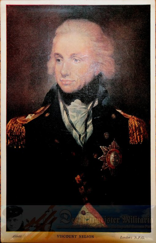 PRUSSIA - POSTCARD - ADMIRAL HORATIO NELSON - NAVY