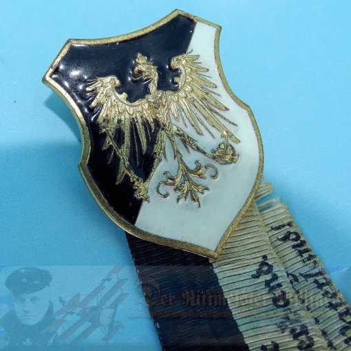 PRUSSIA - BADGE - VETERANS ASSOCIATION - Imperial German Military Antiques Sale