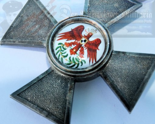 AUSTRIA / SAXONY - ORDER OF THE RED EAGLE 4th CLASS - Imperial German Military Antiques Sale