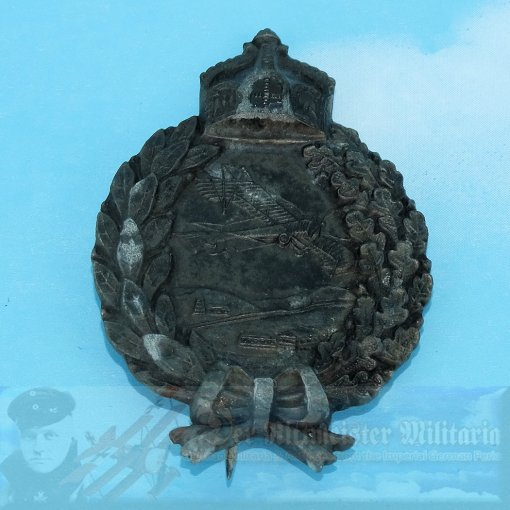 PRUSSIA - BADGE - ARMY LAND PILOT - Imperial German Military Antiques Sale