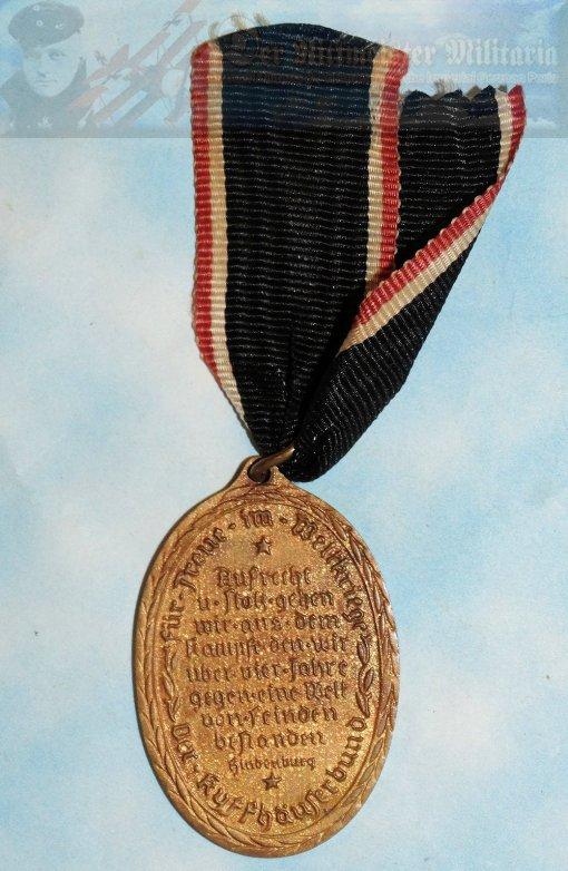 GERMAN - KYFFHAUSERBUND MEDAL - GOLD