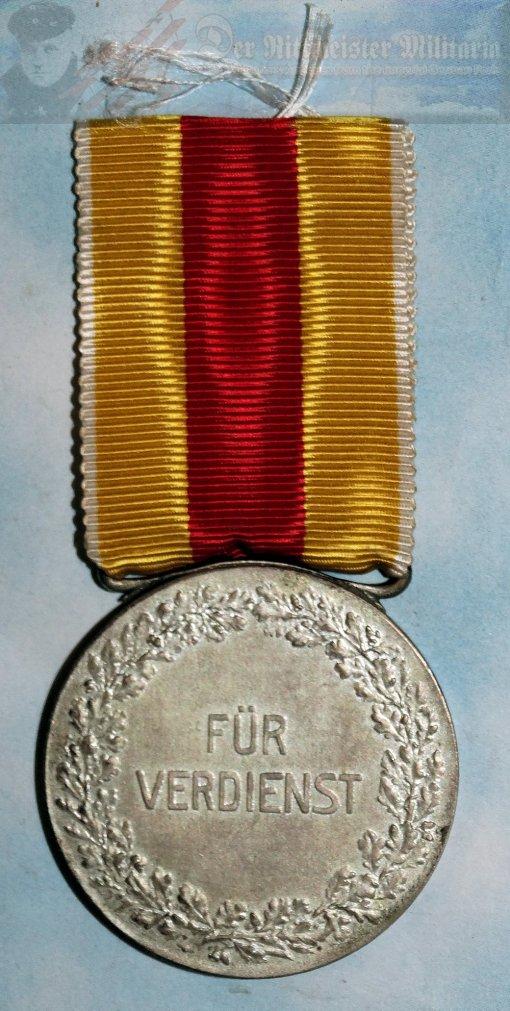 BADEN - MERIT MEDAL - SILVER - Imperial German Military Antiques Sale