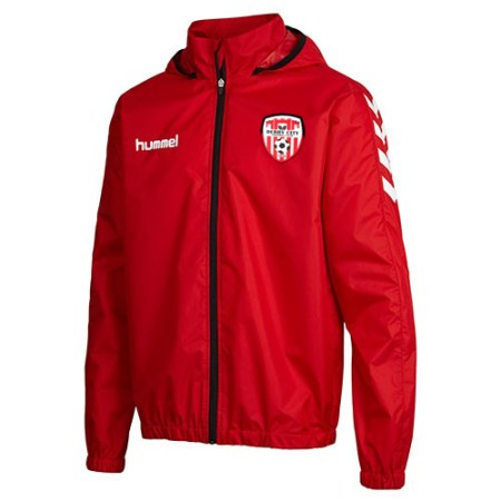 hummel-core-spray-jacket-red-16-17