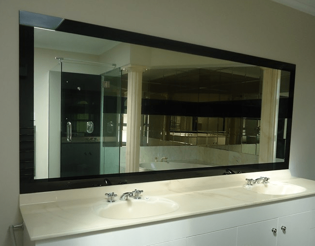 Full Size Bathroom Glass Mirrors Processing Mirror Manufactured In Derry City Supplied And Installed Northern Ireland