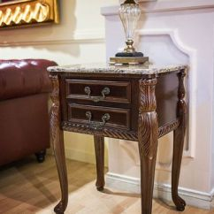 Mahogany Side Tables Living Room Sets Singapore Marble Top Table End