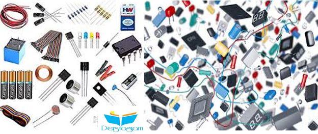 endüstriyel elektronik elemanları komponentleri