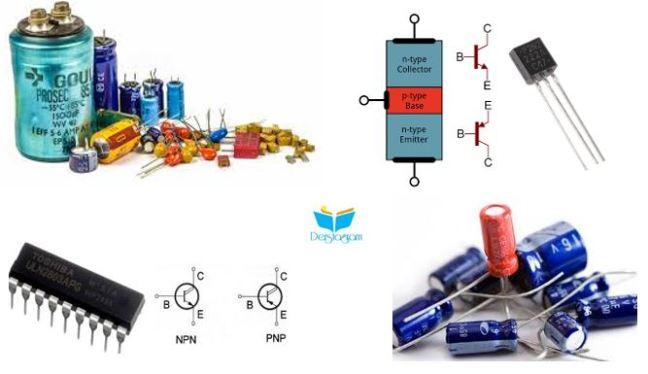 transistor ve kondansatör nedir