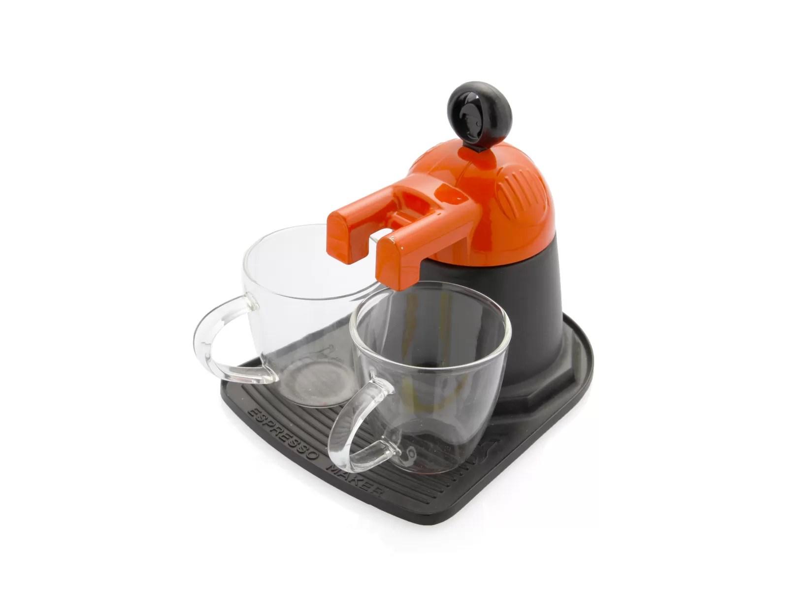 caffettiera-di-design-brandani-melita-arancione