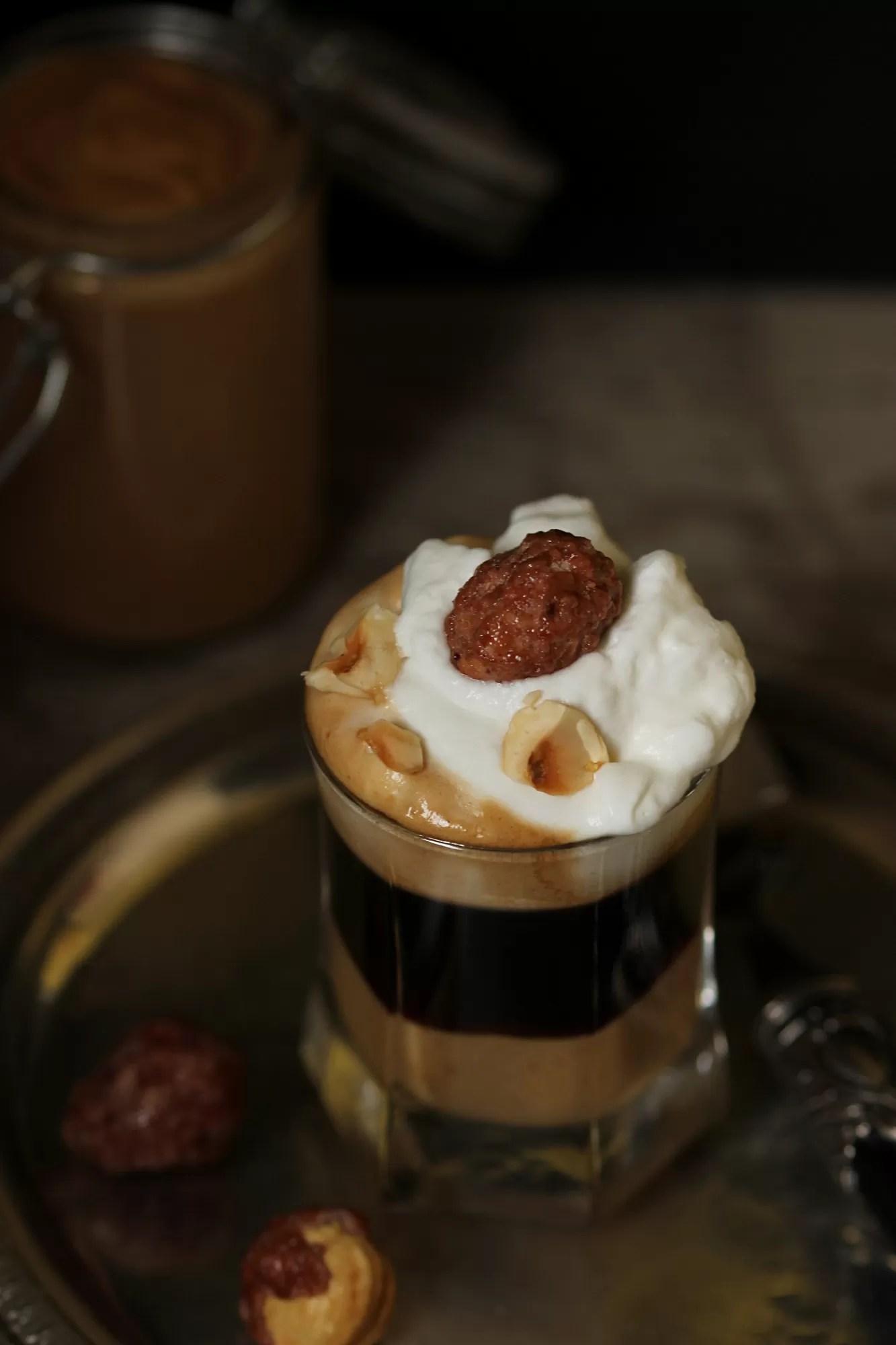 Come fare caffè alla nocciola