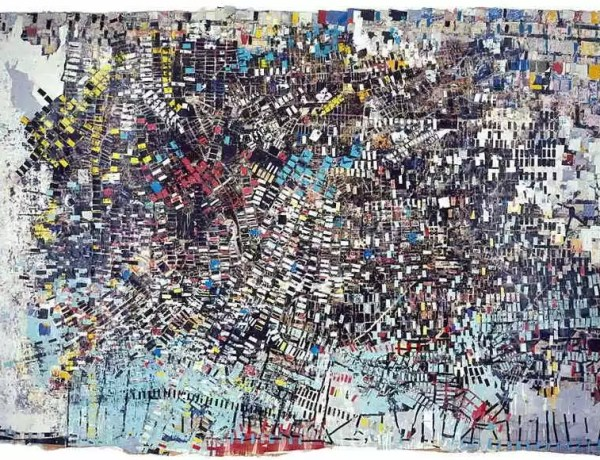 La Biennale Venezia 2017 Mark-Bradford-Black-Venus-via-africanah-org