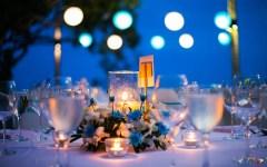 allestire una cena all'aperto - consigli per giardino, terrazza, balcone e patio