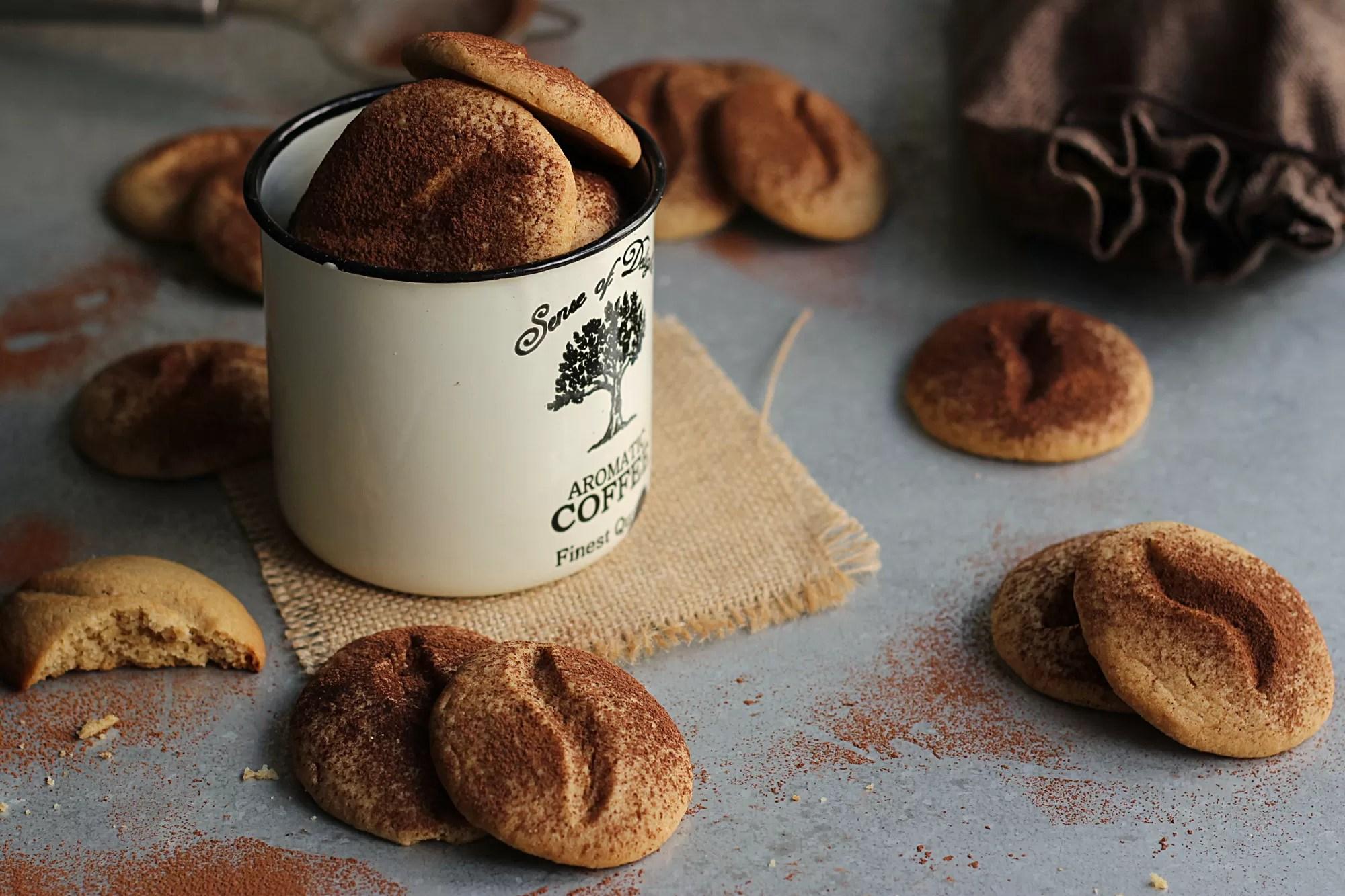 Biscotti di frolla al caffè senza uova