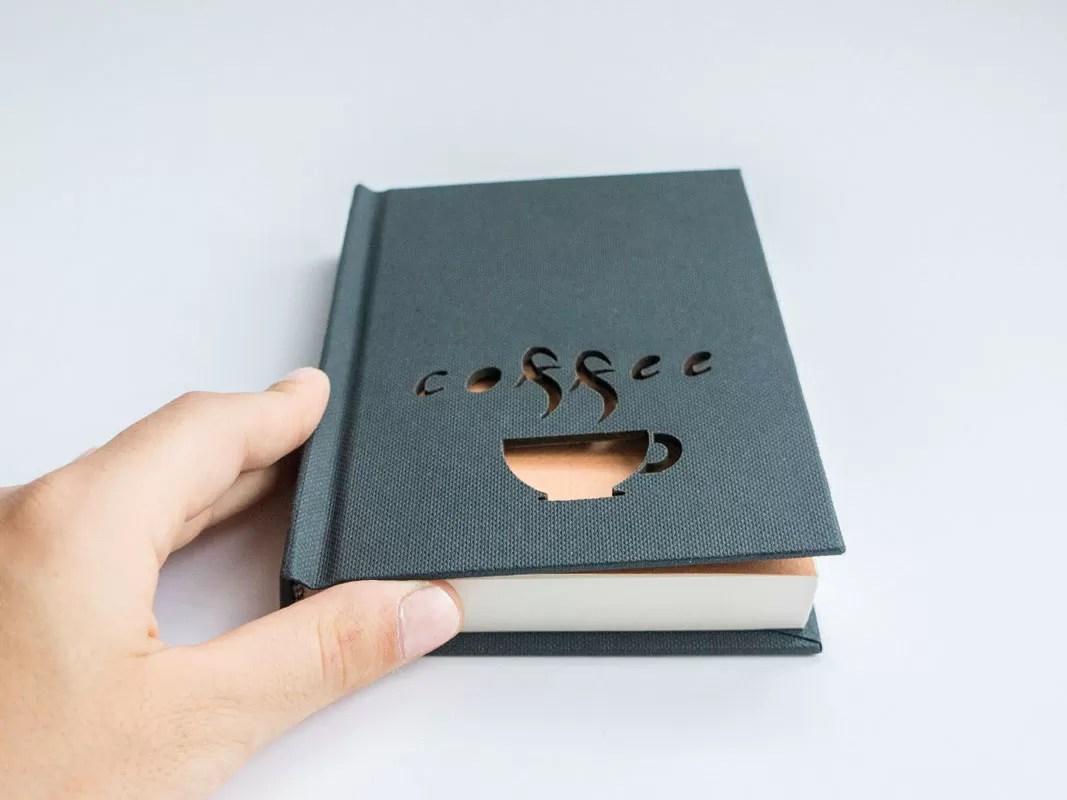 Natale 2017 - Idee regalo per amanti del caffè - Agenda journaling notebook coffee
