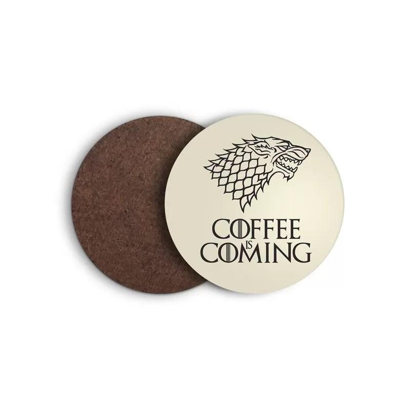 Natale 2017 - Idee regalo per amanti del caffè - Sottobicchiere Games of Thrones