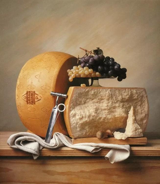Grana Padano DOP abbinamento con uva