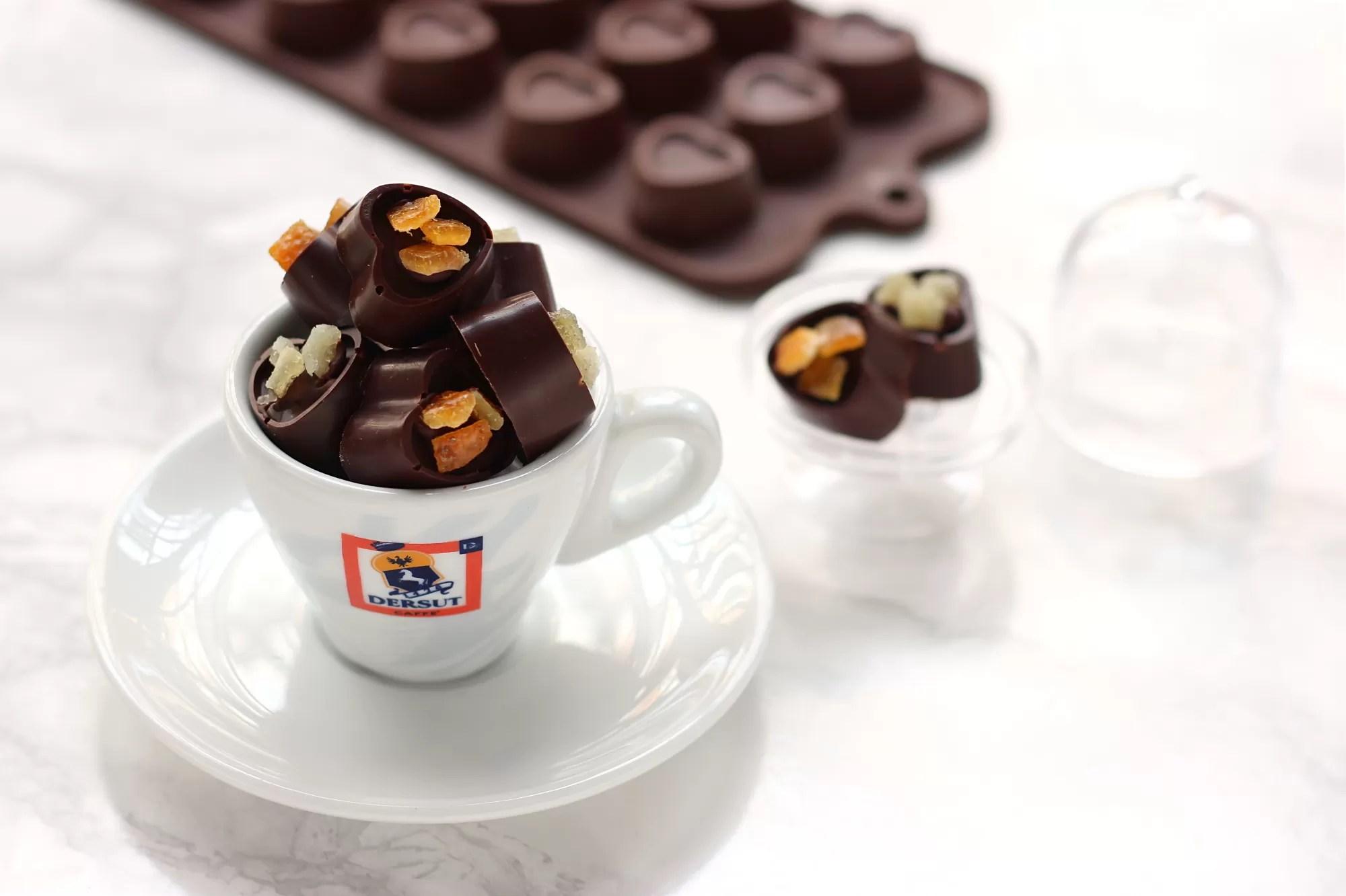 Ricetta cioccolatini al caffè