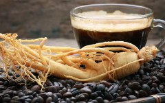 Ginseng e caffè