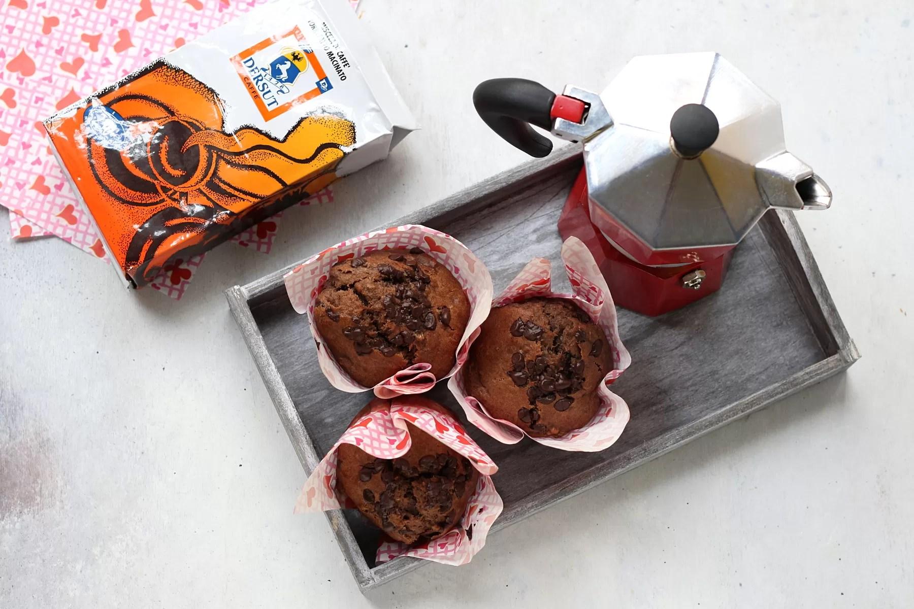 Muffin alla banana e caffè O.S. Dersut