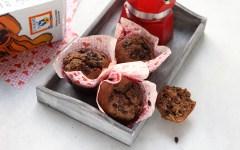 Ricetta dei muffin alla banana, cioccolato e caffè