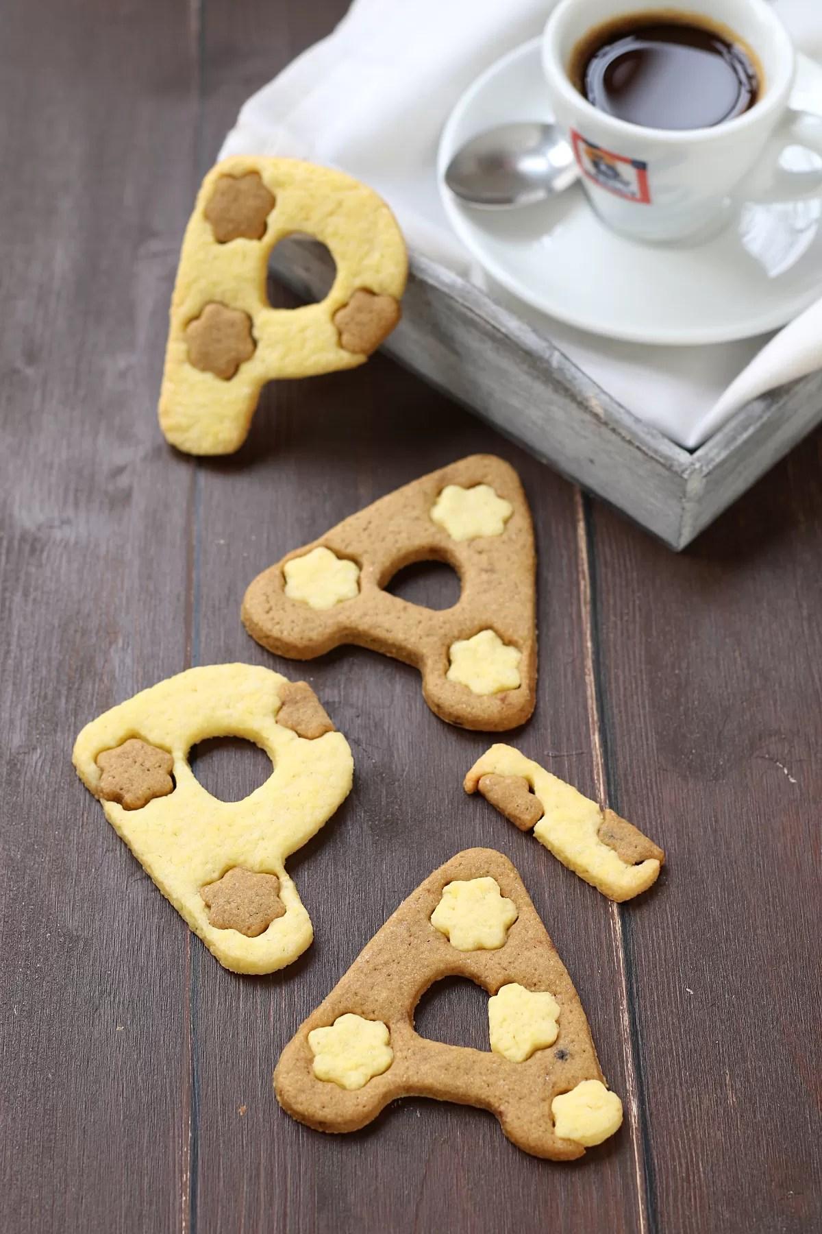 Biscotti al caffè per la festa del papà