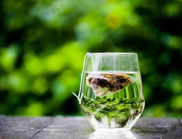 tè verde piramidi come servirlo