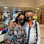 Gesichtsmaske Kunden