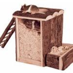 trixie graaftoren hamsterspeeltjes hamster