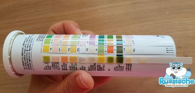medi test strips laboratorium