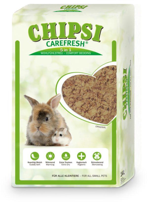 chipsi carefresh original natural dwerghamster bodembedekking