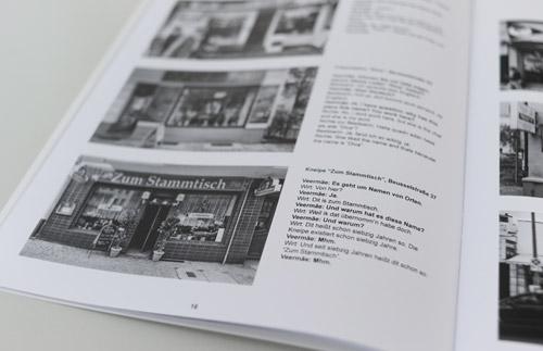 """""""Name"""" - Für seine Arbeit """"Name"""" befragte der Estländer Ivar Veermäe verschiedene Geschäftsinhaber in Moabit zu den Namen ihrer Läden"""