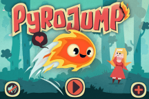 Pyro Jump Screen Title