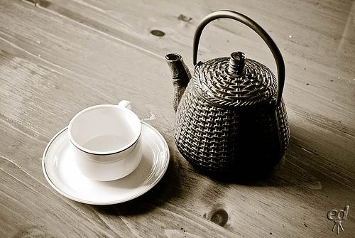 Buvé du thé