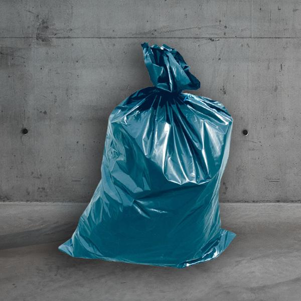 Müllsack,abfallsack,Müllsäcke,Müllsack blau,müllsack 70x110cm DESABAG