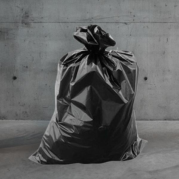 schwarzer müllsack,müllsack schwarz DESABAG