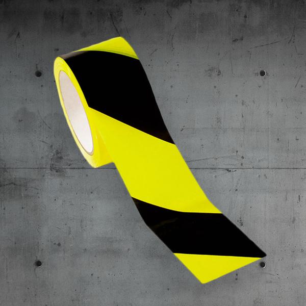 warnband,warnband schwarz gelb,warnband selbstklebend DESABAG