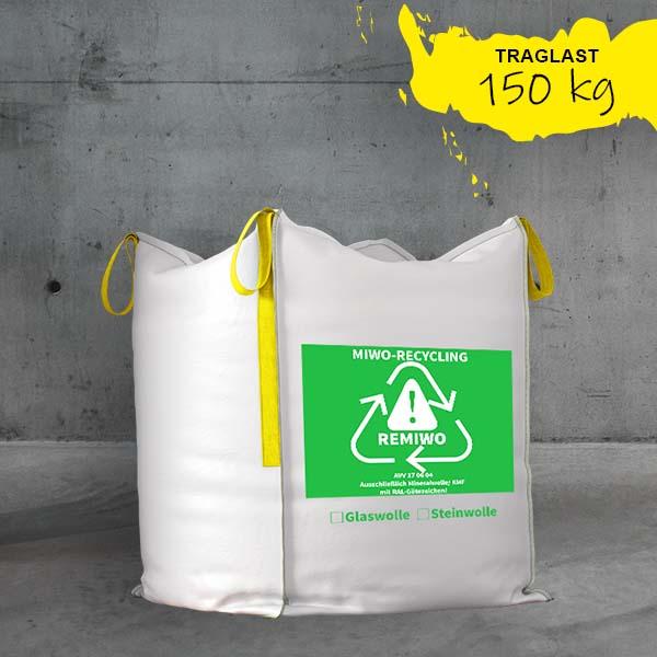 Big Bag Mineralwolle/KMF XL,säcke für mineralwolle,bags für minerawolle,mineralwollsäcke,bigbags mineralwolle/kmf DESABAG