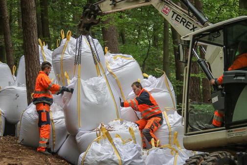 Bombenentschärfung Big Bags, Desabag Bombe, DESABAG