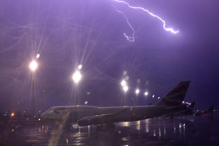 Tempestades são normais