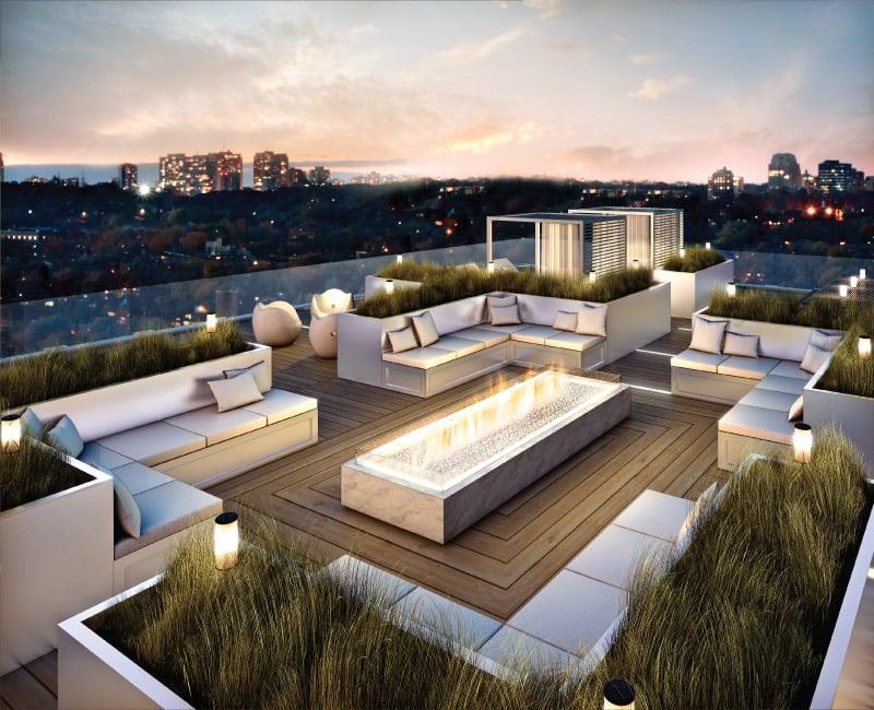 Illuminazione per terrazzi