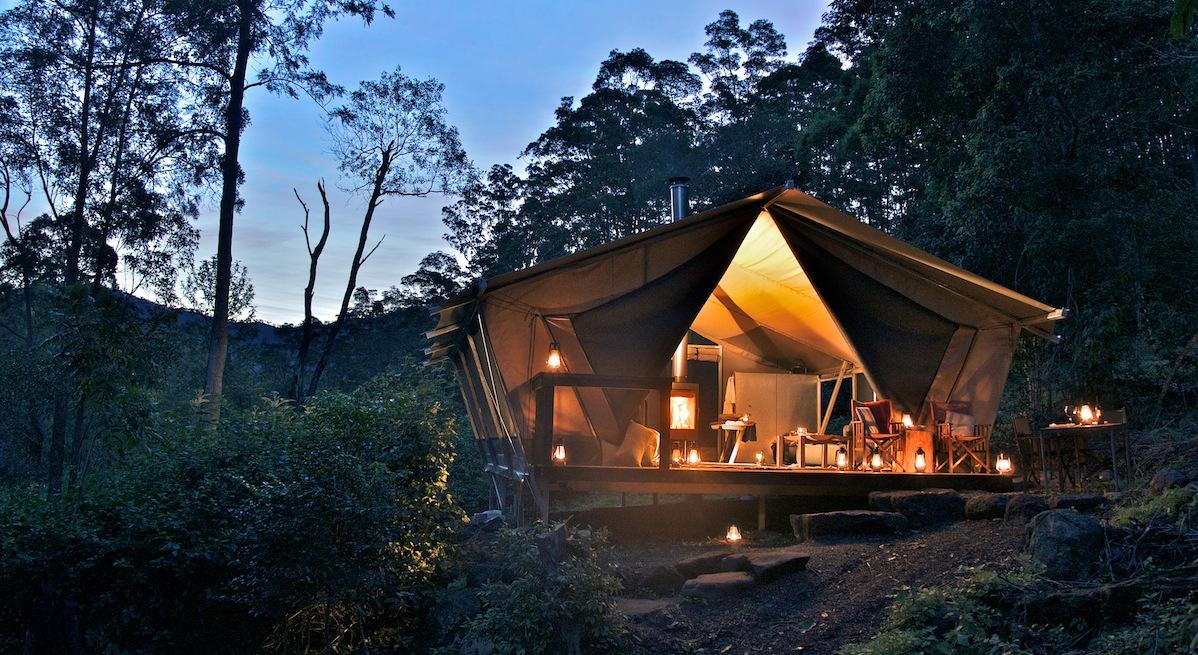 Tende da campeggio di lusso