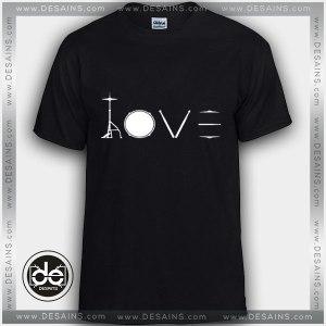 Buy Tshirt Love Drummer Design art Tshirt mens Tshirt womens Tees size S-3XL