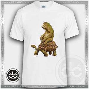 Buy Tshirt Sloth Turtle Funny Tshirt mens Tshirt womens Size S-3XL